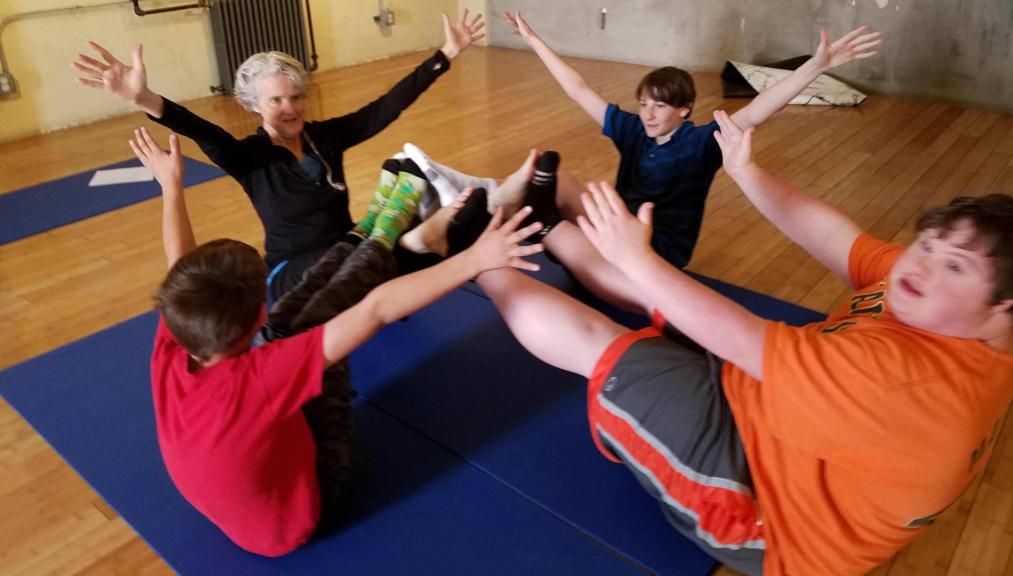 FREE Family Yoga