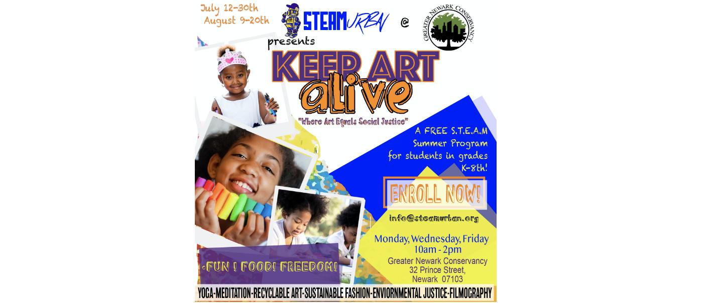 STEAM Urban's Keep Art Alive Program!