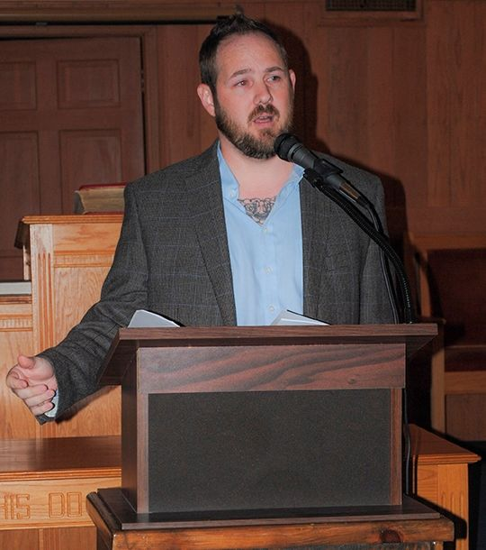 Keynote speaker Stephen Bray.