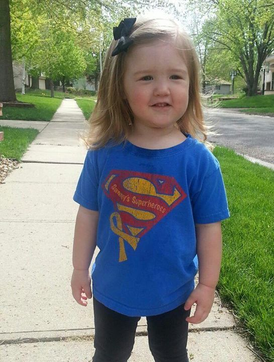 Hadlee is sending smiles and love to Sammy!