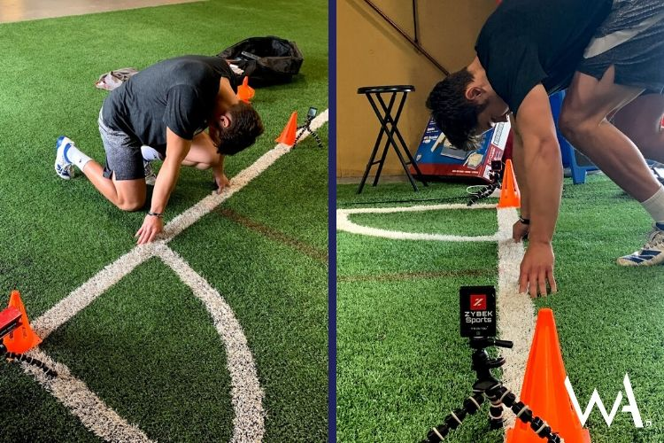 Football agility drills to improve speed