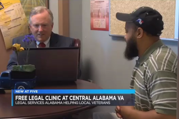 Free legal services now available at Central Alabama VA