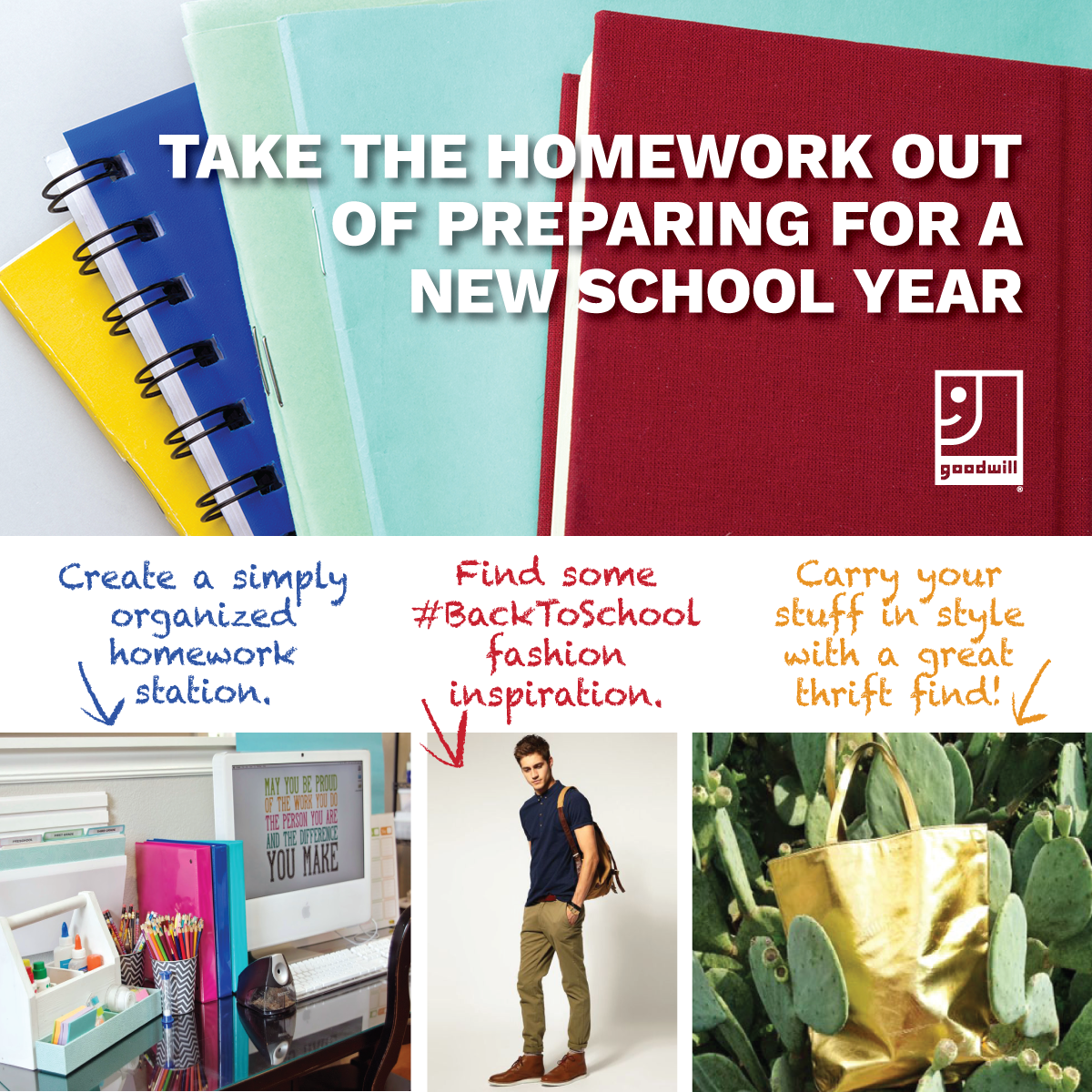 Take the homework out of preparing for a new school year