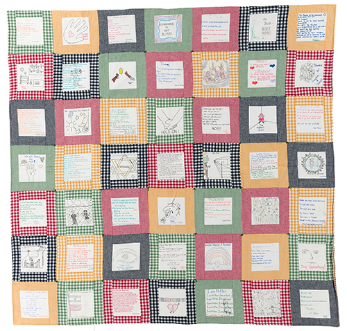 Quilt House to Feature Program on Holocaust Quilt