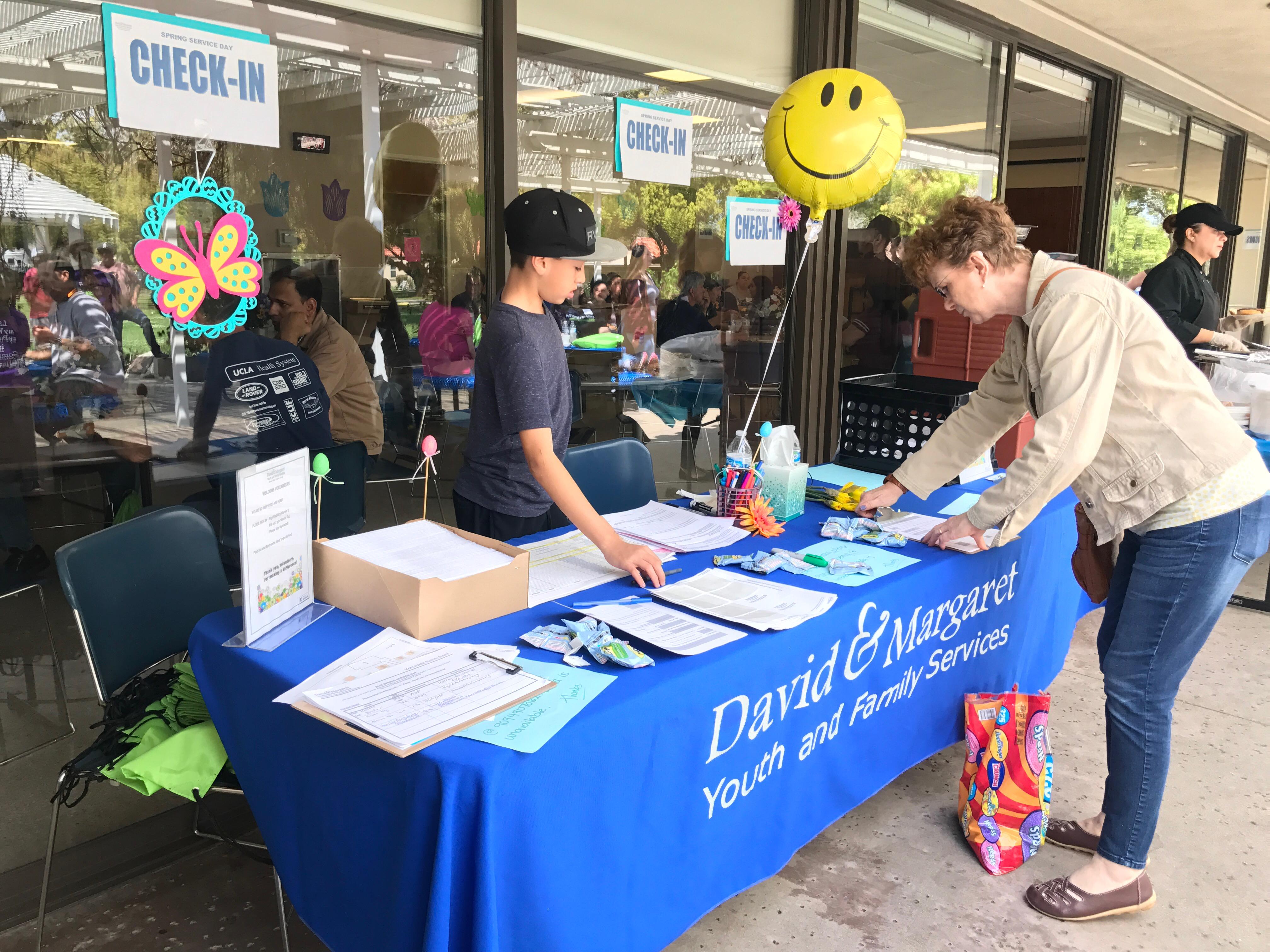Volunteer at David & Margaret