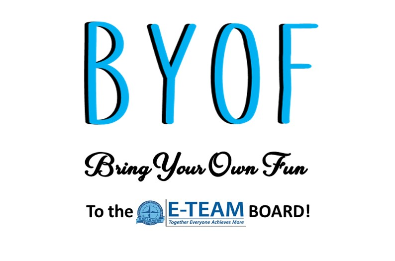 JOIN THE E-TEAM