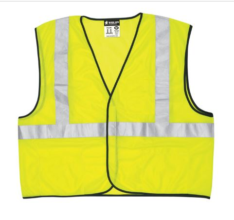 Free safety vest for those who attend Kearney seminar!