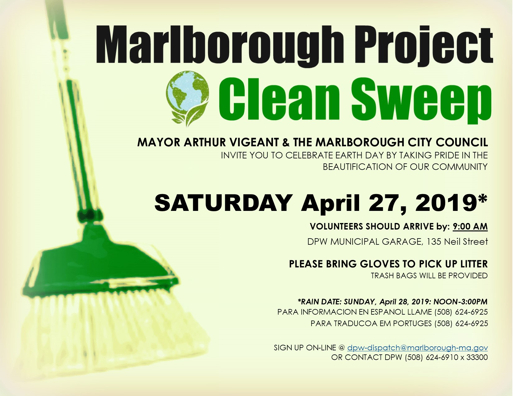 Marlborough Project Clean Sweep