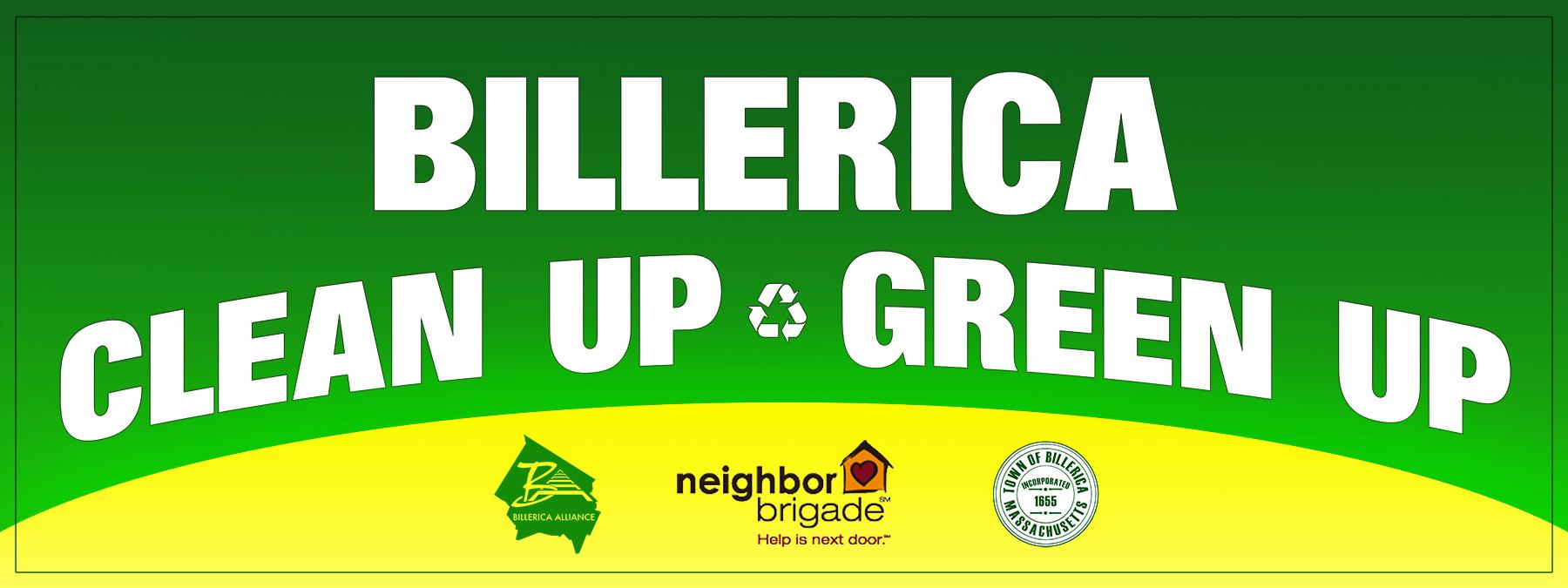 Billerica Clean Up Green Up
