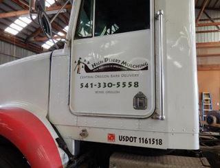 Semi Truck Lettering