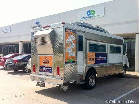 Partial Coverage Food Truck