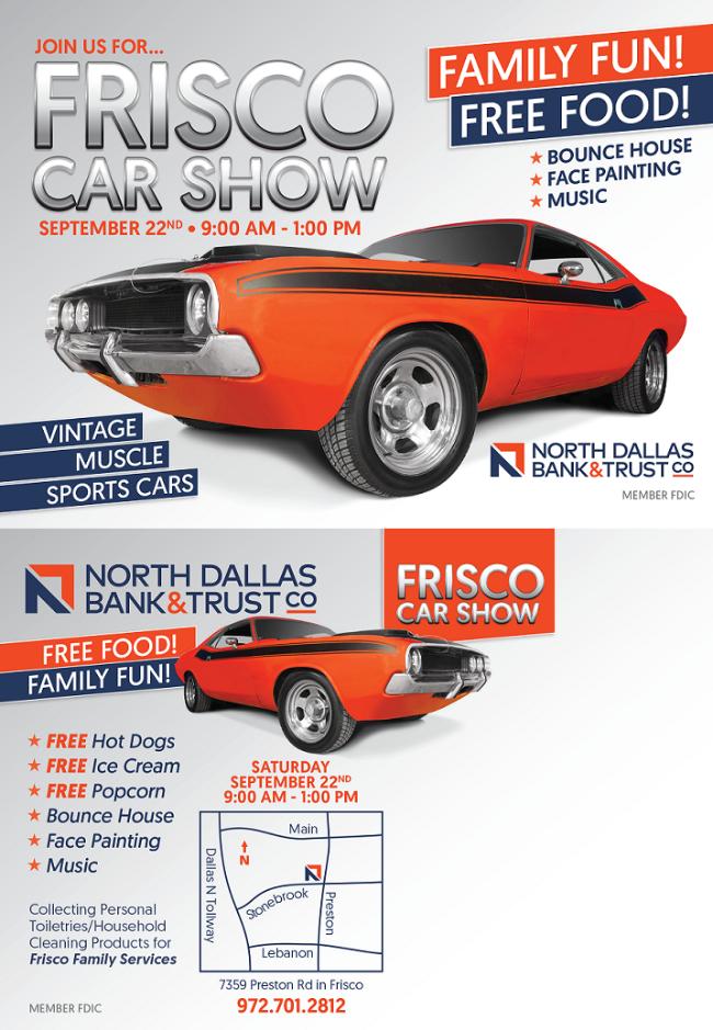 Frisco Car Show