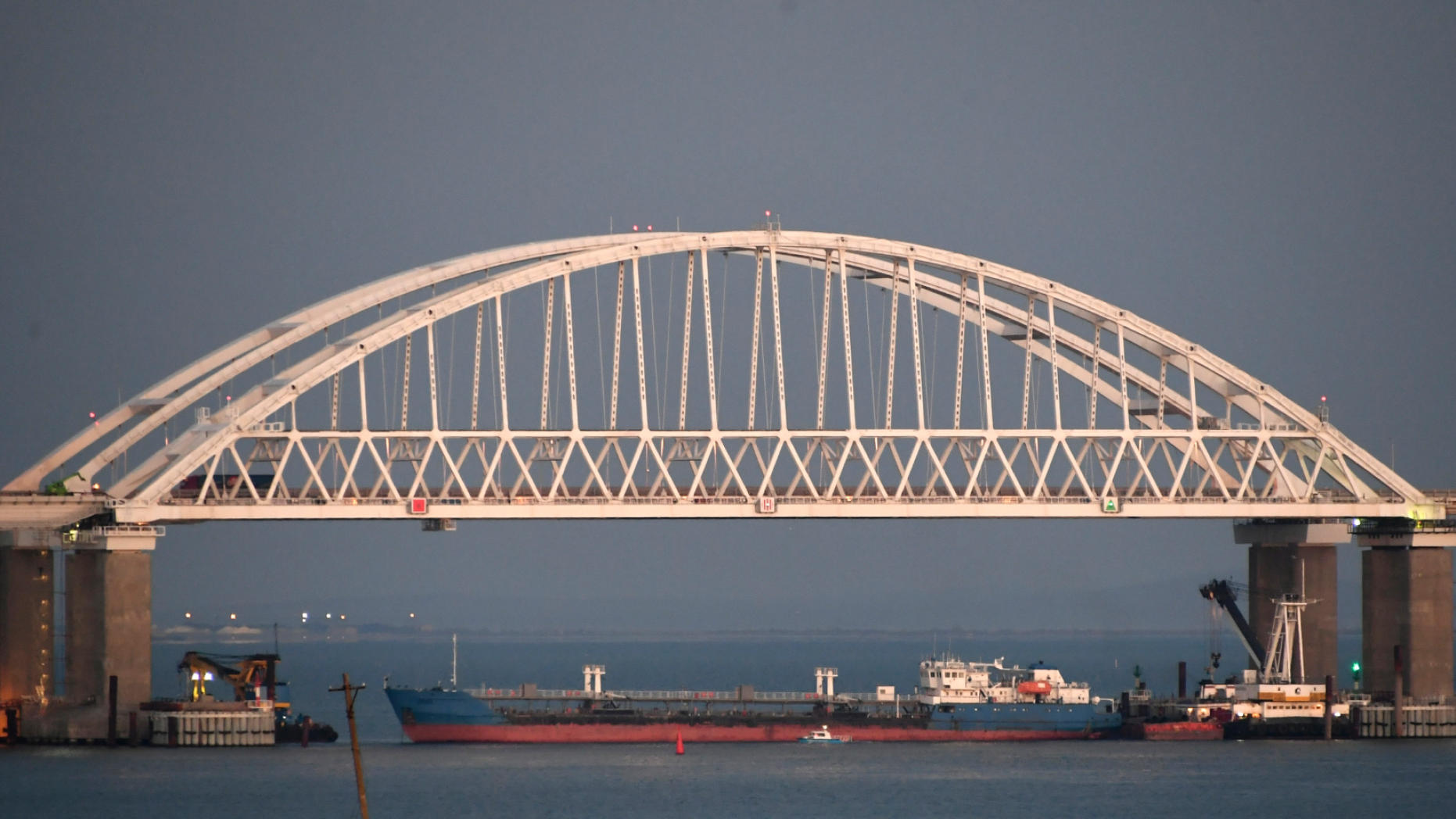 Ukraine seizes Russian tanker involved in November conflict