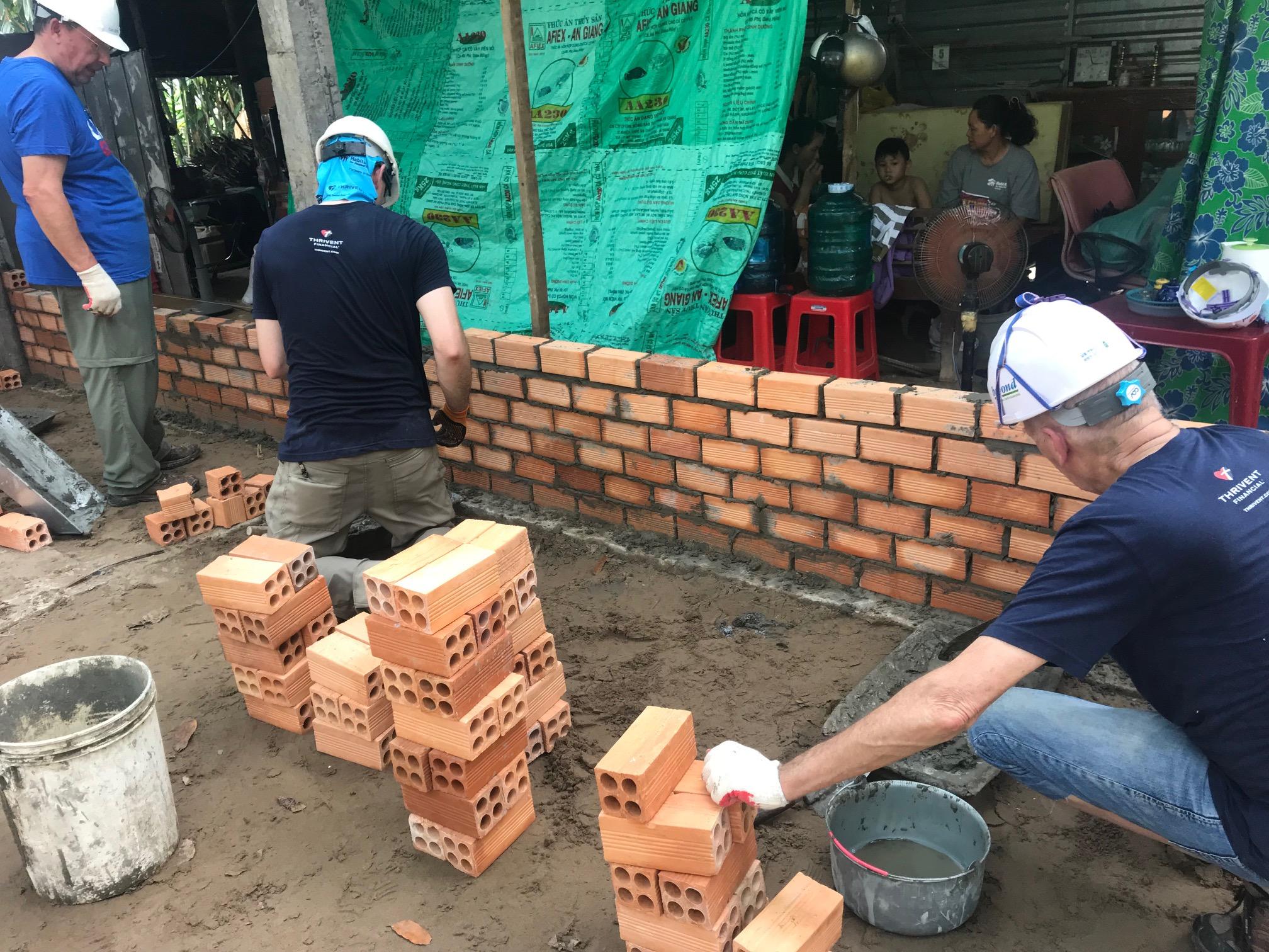 Big Build Vietnam Day Two