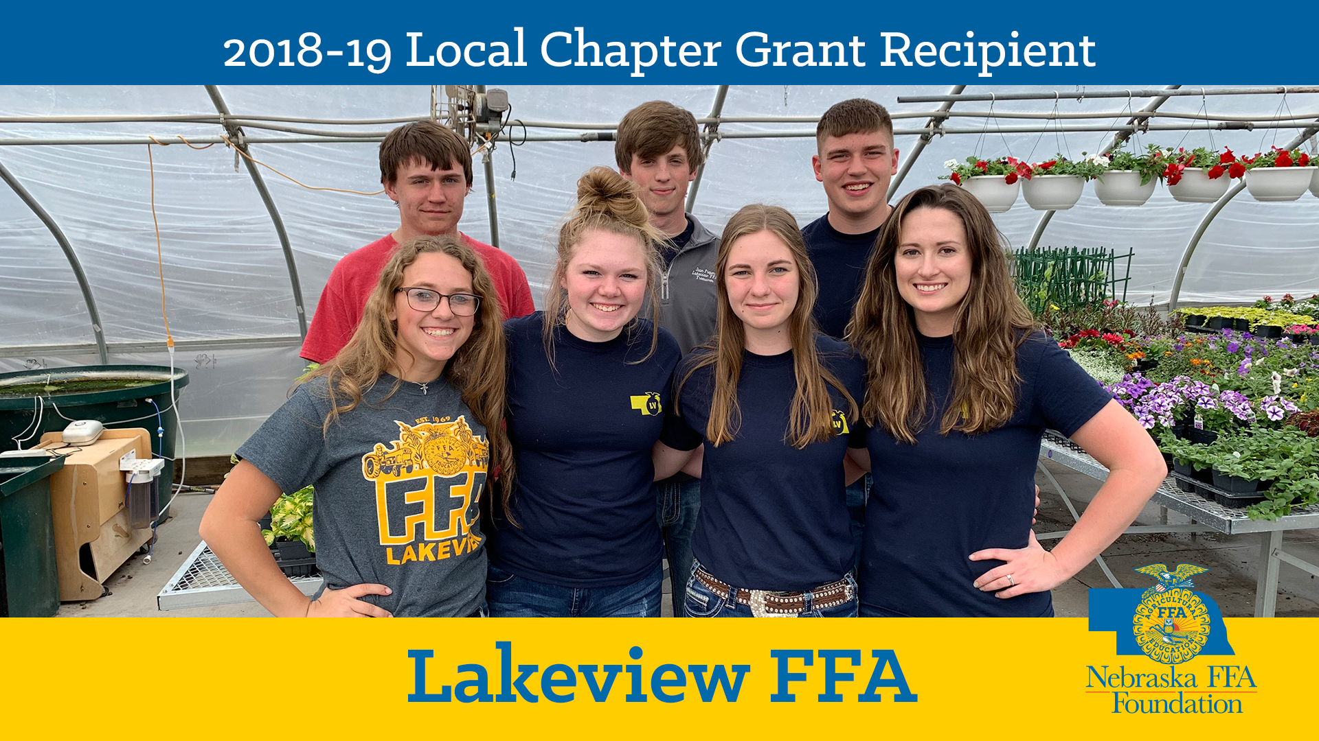 2018 Local Chapter Grant Recipient: Lakeview