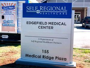 Edgefield Medical Location Sign