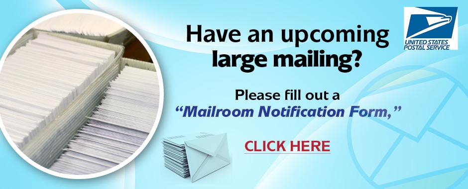 Large Mailing