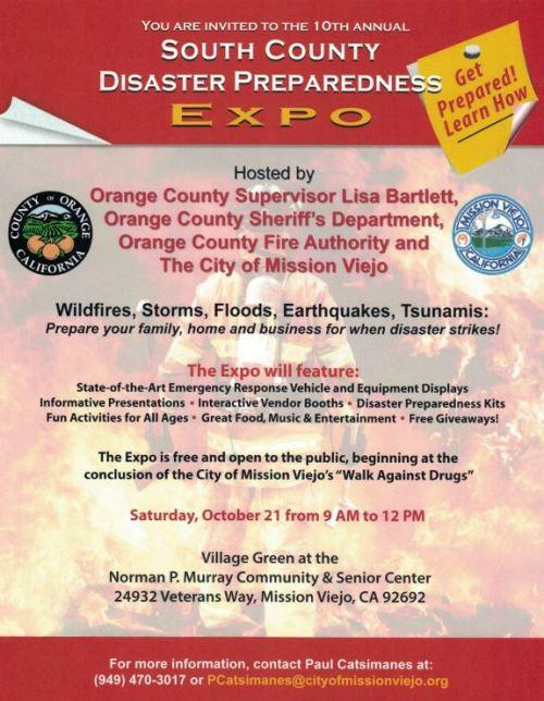 Disaster Preparedness Expo
