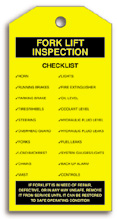 Fork Lift Inspection Record