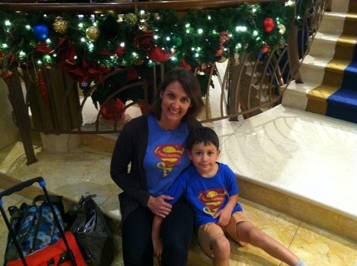 Bencomo Superheroes on a Disney Cruise!!