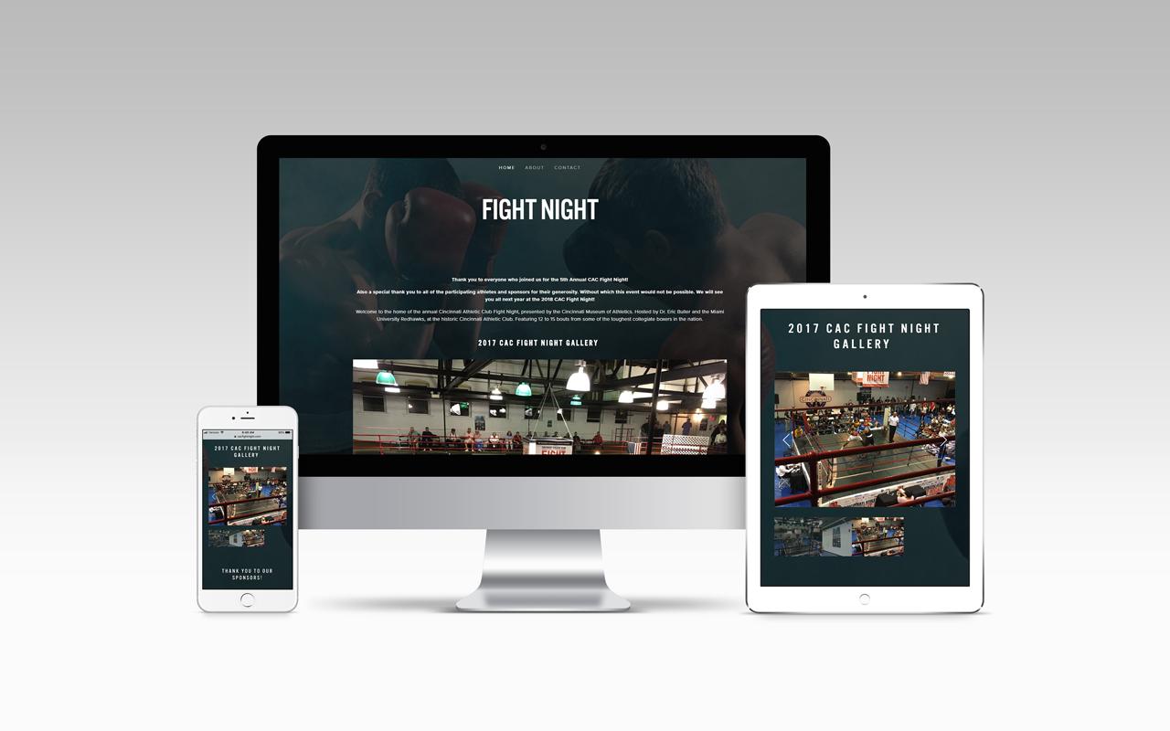 Cincinnati Athletic Club Fight Night