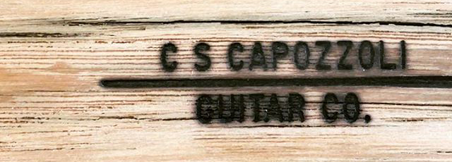 Sound Machines: Stringed Instruments by the Capozzoli Guitar Company