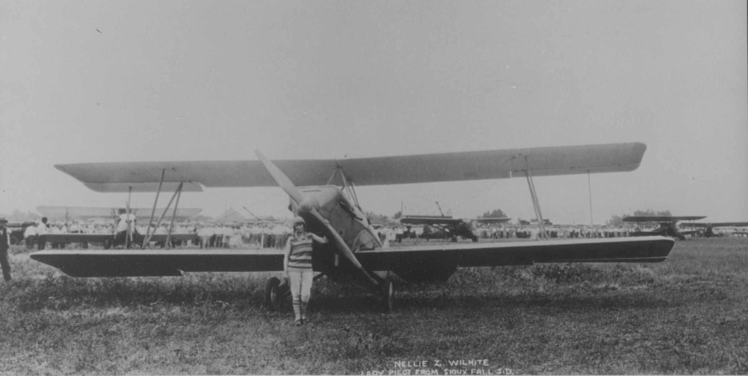May 2021-South Dakota's First Female Pilot, Nellie Zabel Willhite
