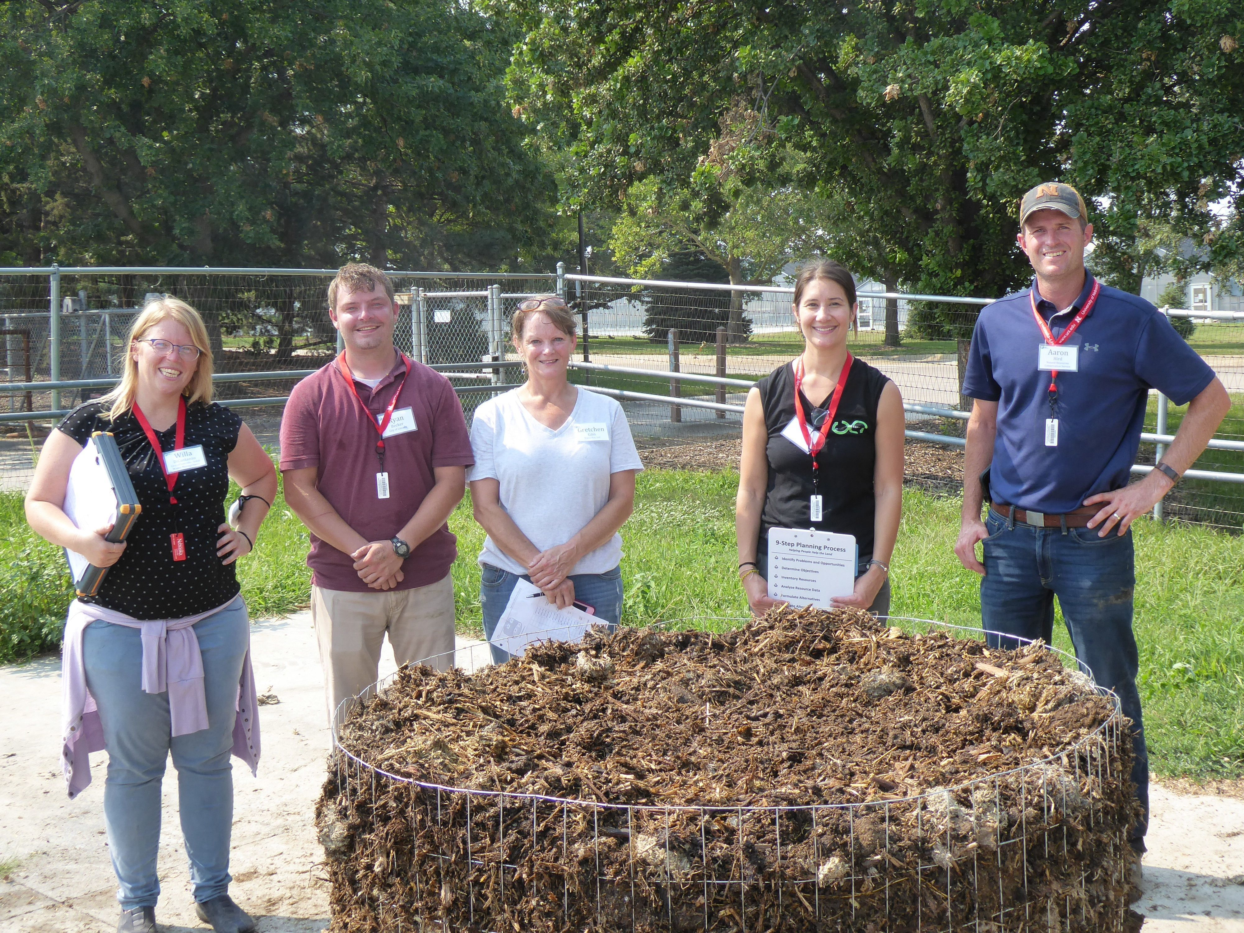 WTEL attends the 2021 Compost Operations Training