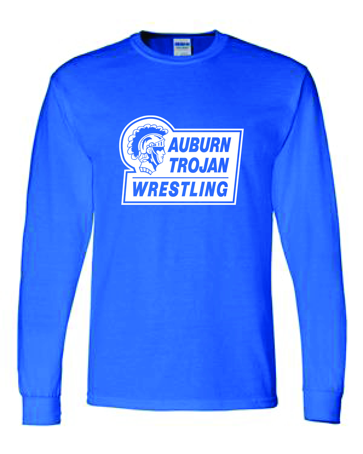 Gildan - Heavy Cotton™ Youth Long Sleeve T-Shirt - 5400B ROYAL BLUE