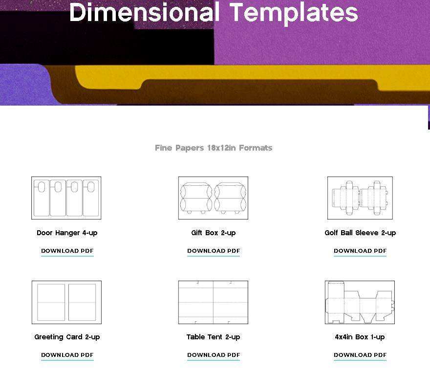 Mohawk Dimensional Templates