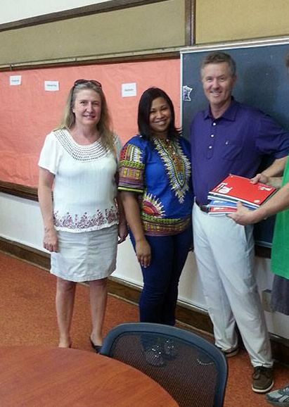 School supplies delivered to Harvest Network of Schools