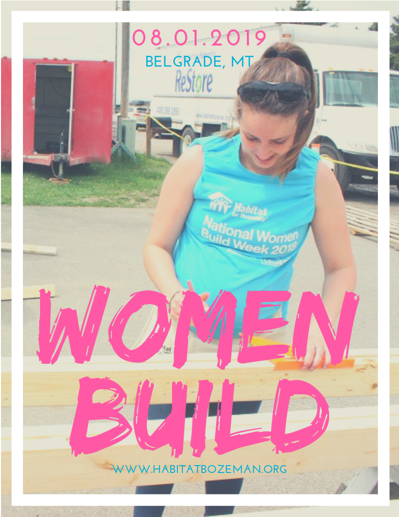 Women Build: Afternoon Crew