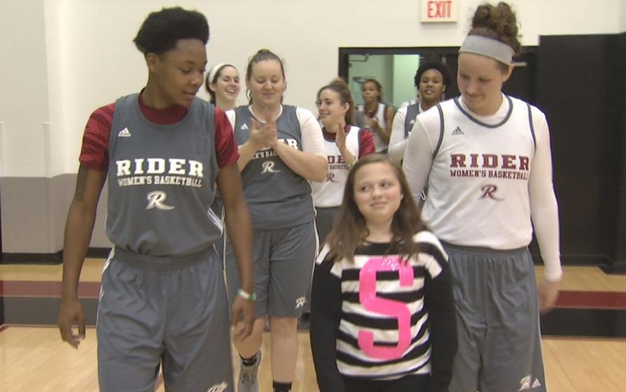 Rider U Basketball Drafts Girl Battling Disease