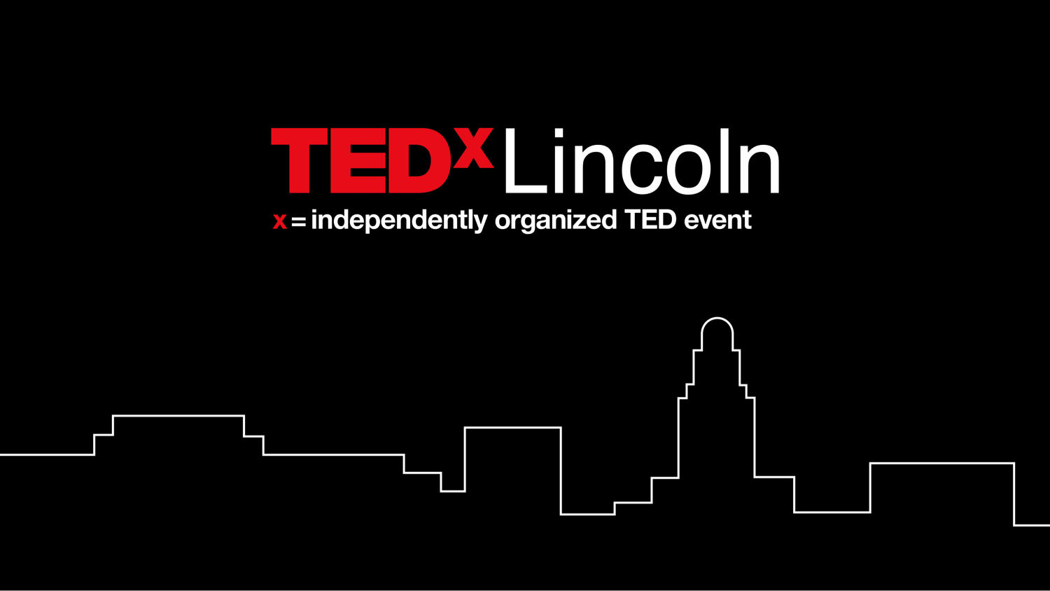 TEDxLincoln graphic logo