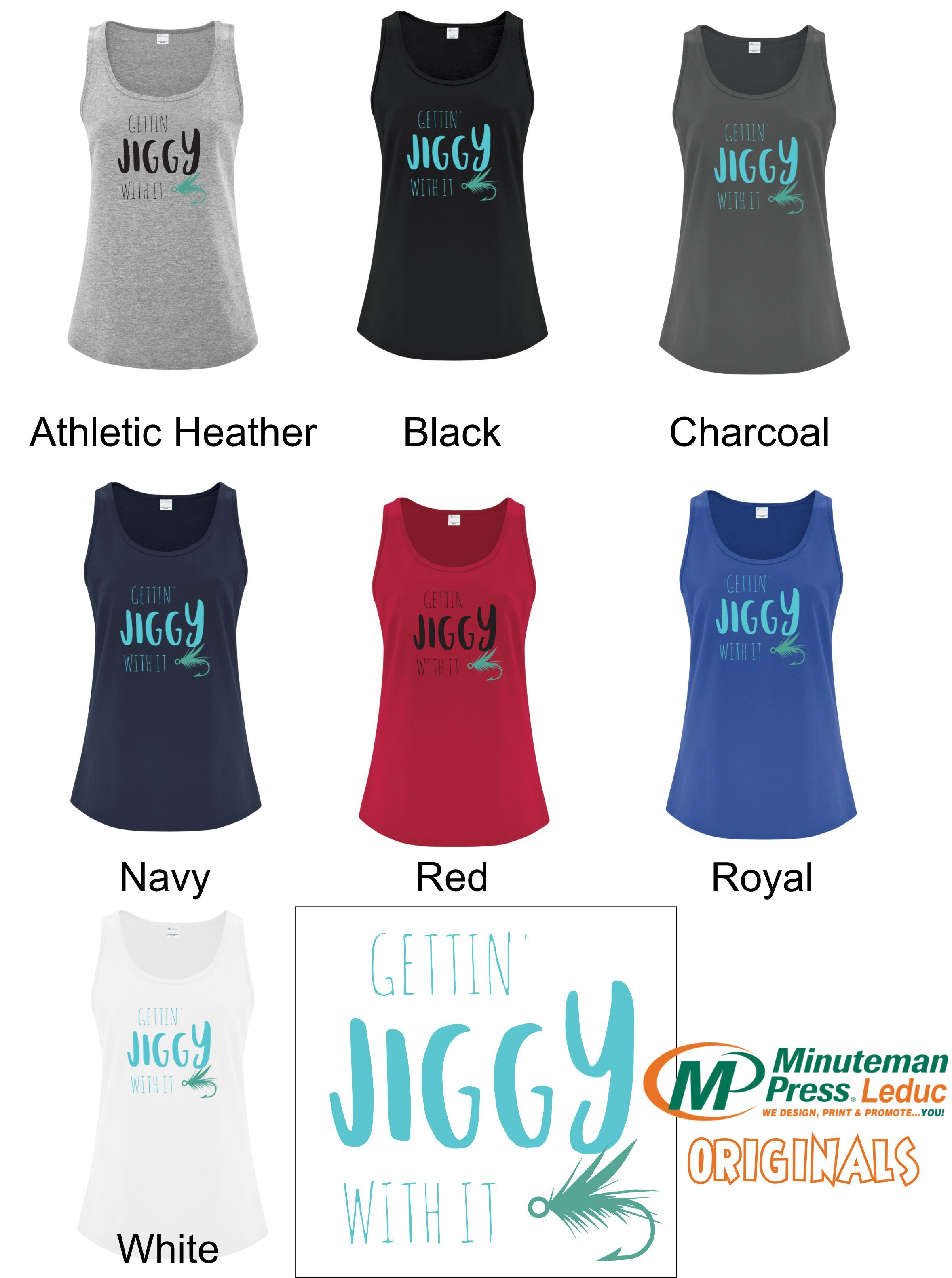 Getting Jiggy with it - Womans Tank