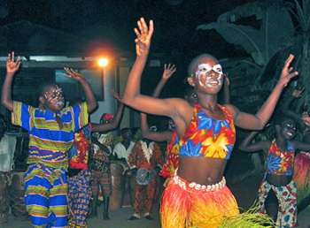 Nkabom Children's Dance Troupe
