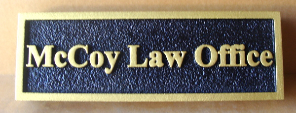 A10147 - Law Office Door Sign