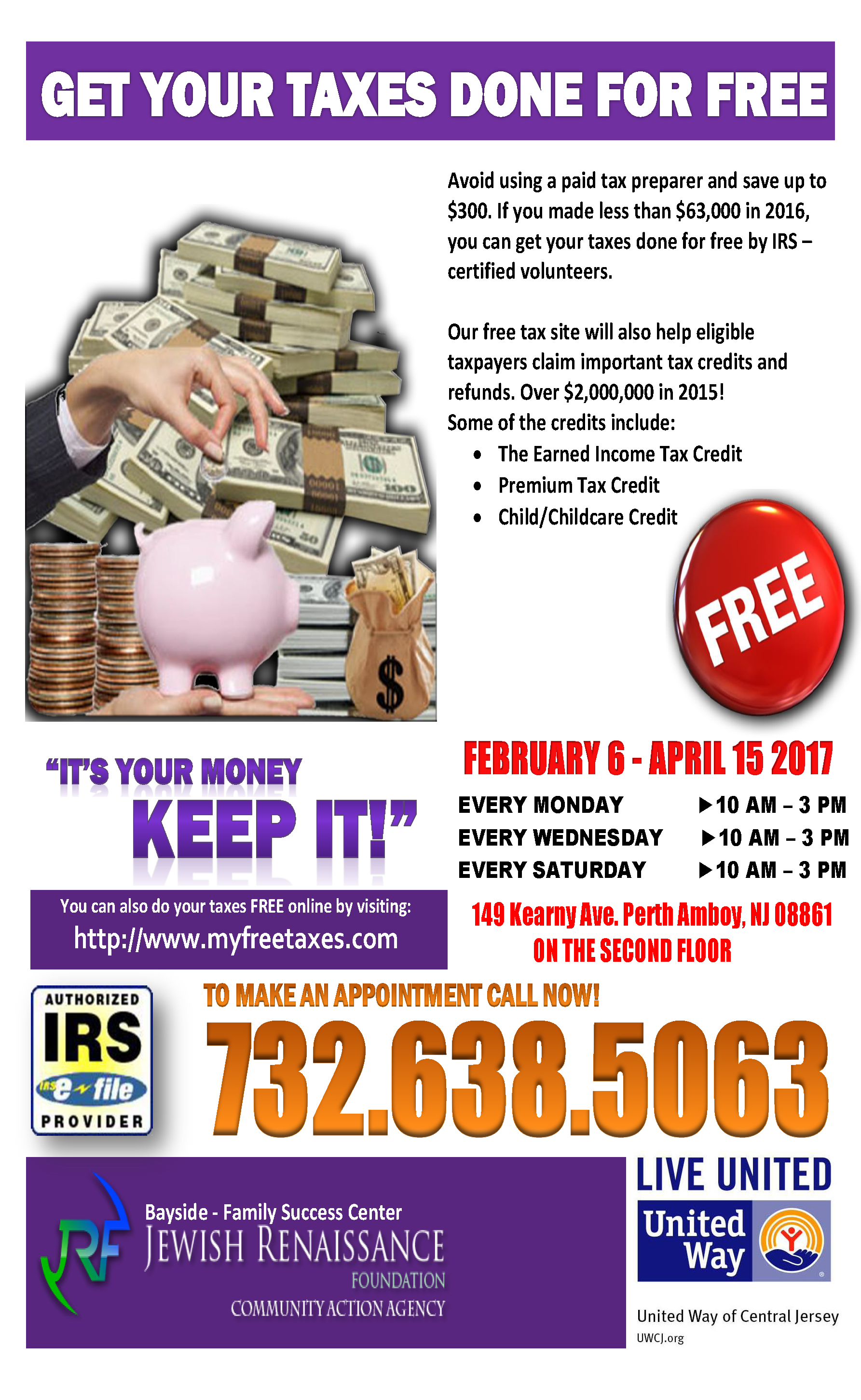 Get Your Taxes Done for Free