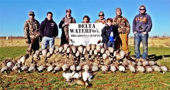 Youth Enjoy Delta Auctioned Oklahoma Hunt