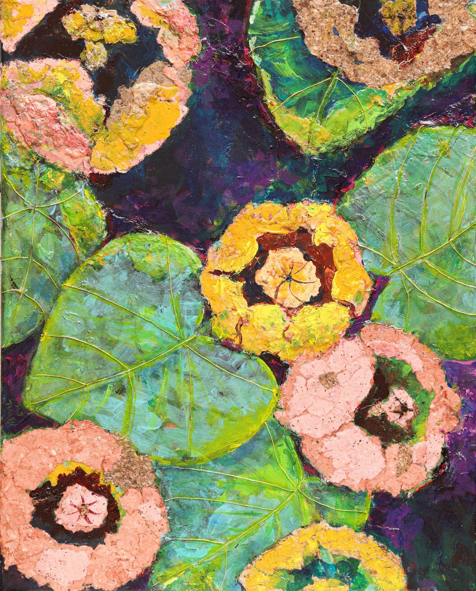 """Pond Lilies"" - MJ Turek"