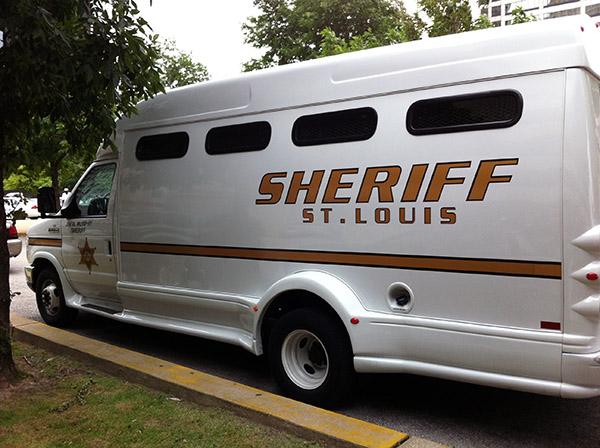 St. Louis Sheriffs Van 2