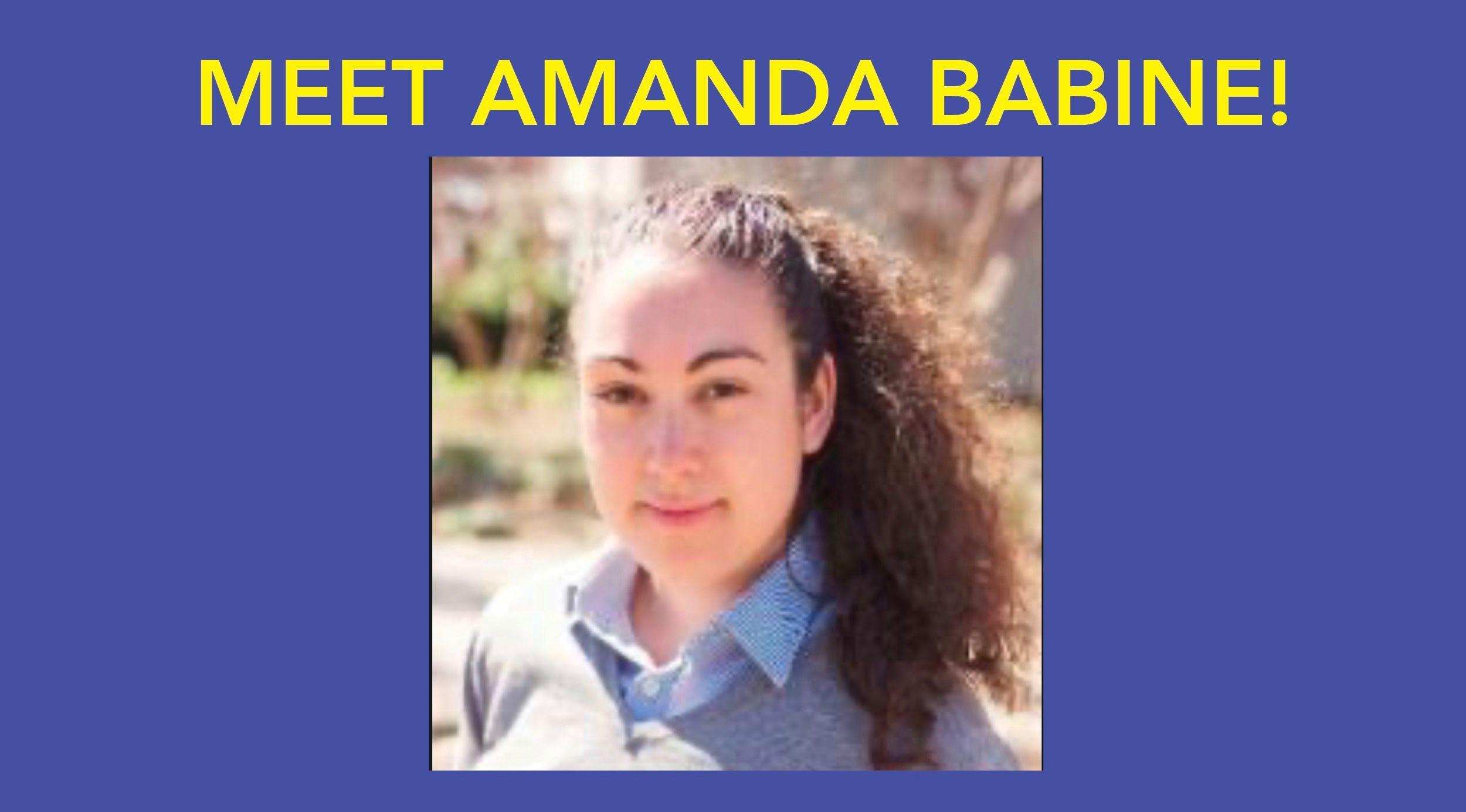 Meet Amanda Babine