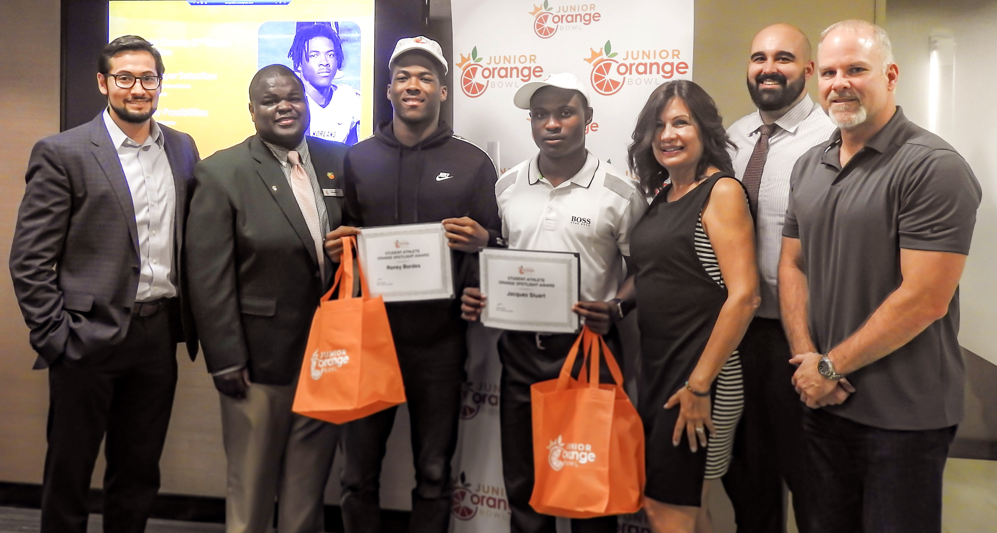 Inaugural Student-Athlete Orange Spotlight Award