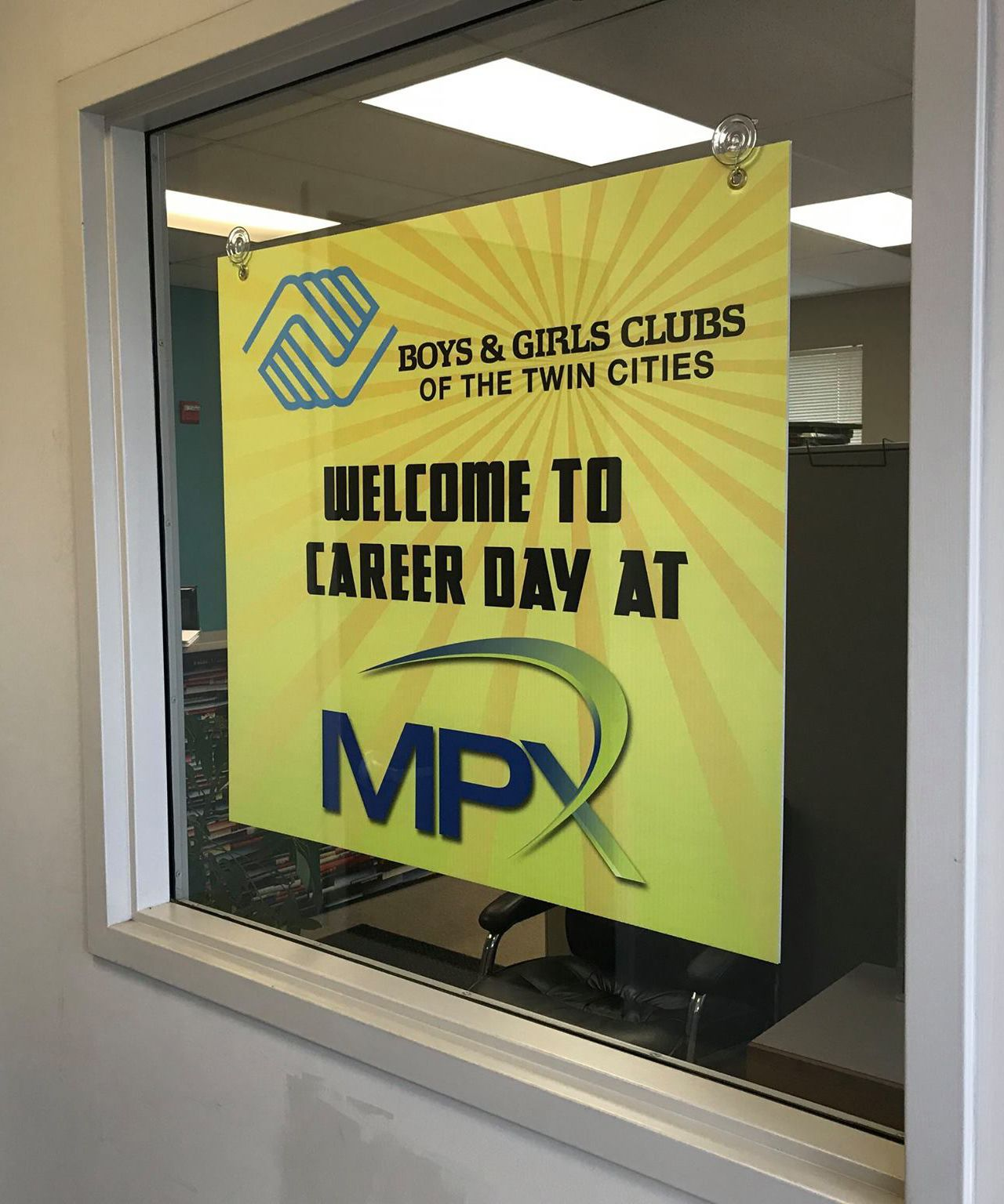 MPX welcomes Boys & Girls Club for Career Day!