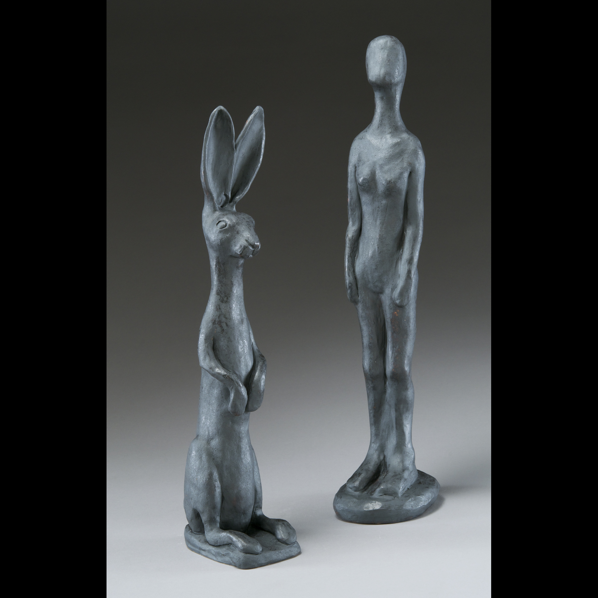 Etruscan inspired figure, rabbit