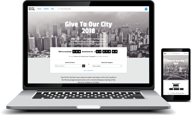 Giving Day Open Source Fundraising Platform