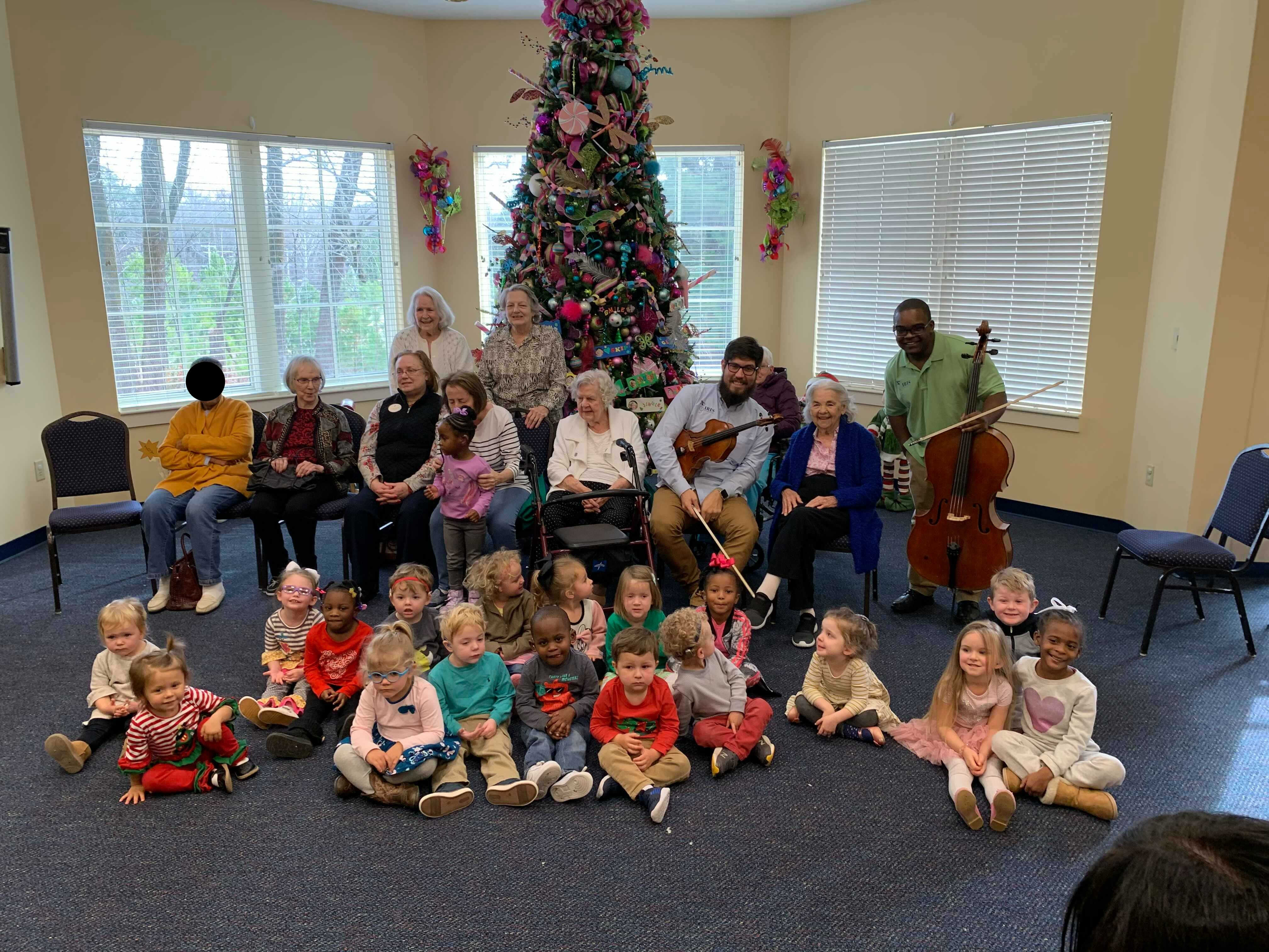 IRIS Orchestra Spreads Holiday Cheer