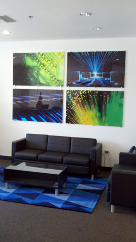 Digital Print series, office install