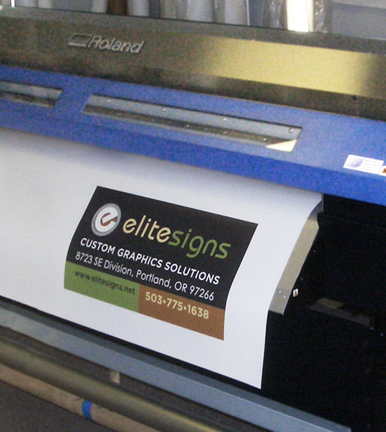 Full Color Digital Printing Wide Format Oversize