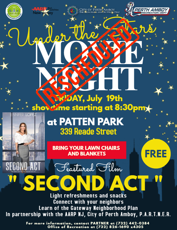 Movie Night at the Park with AARP of NJ